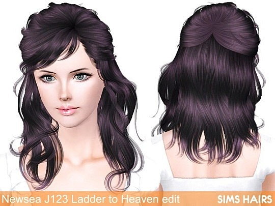 Newsea's J123 Ladder to Heaven retexture by Sims Hairs