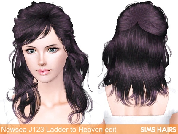 Newsea's J123 Ladder to Heaven retexture by Sims Hairs for Sims 3