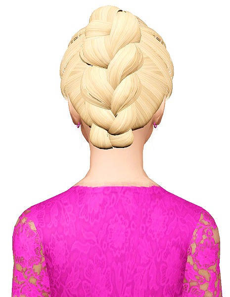 Skysims 198 hairstyle retextured by Pocket for Sims 3