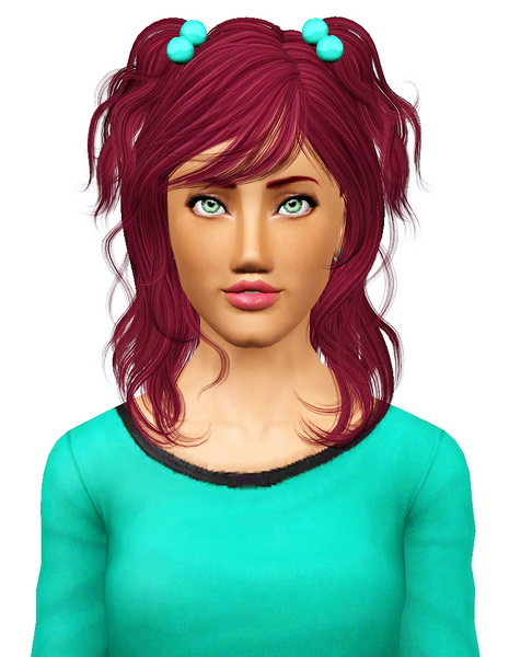 Newsea`s Chiahuahua hairstyle retextured by Pocket for Sims 3
