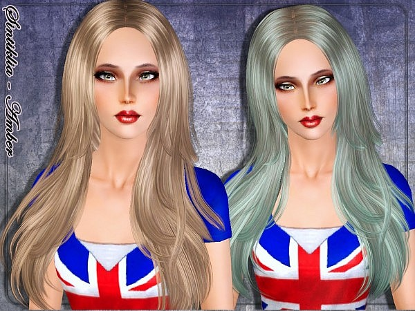 Amber hairstyle by Sintiklia for Sims 3