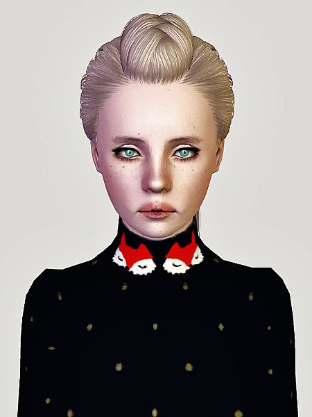 Skysims 223 and Newsea Uproar hairstyle retextured by Sweet Sugar for Sims 3