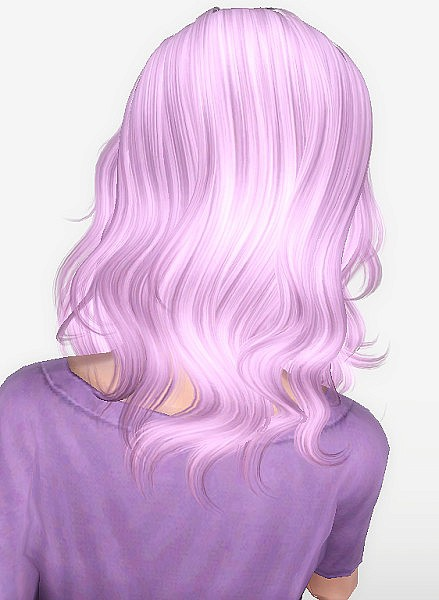 Newsea`s Matcha hairstyle retextured by Forever and Always for Sims 3