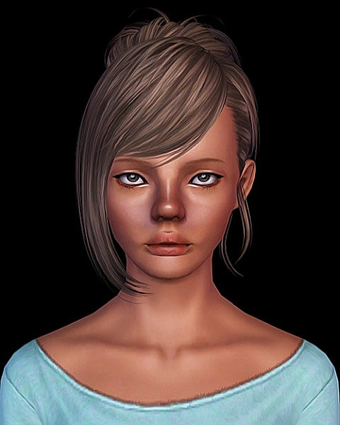 Alesso Kerli and Skysims 092 hairstyles retextured by Sweet Sugar for Sims 3