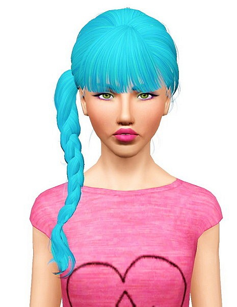 Breath Stars hairstyle retextured by Pocket for Sims 3