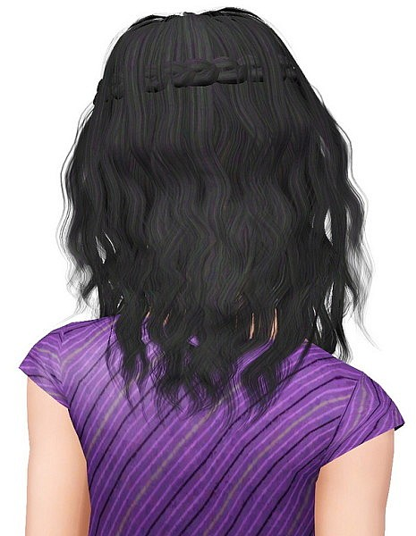 Sintiklia's Ersel hairstyle retextured by Pocket for Sims 3