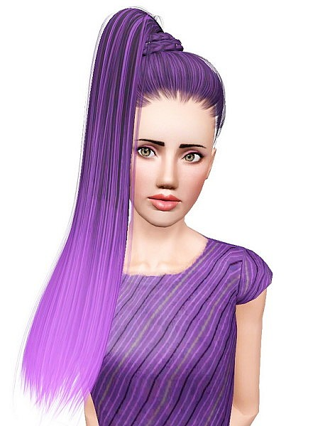 Sintiklia`s Katy hairstyle retextured by Pocket for Sims 3