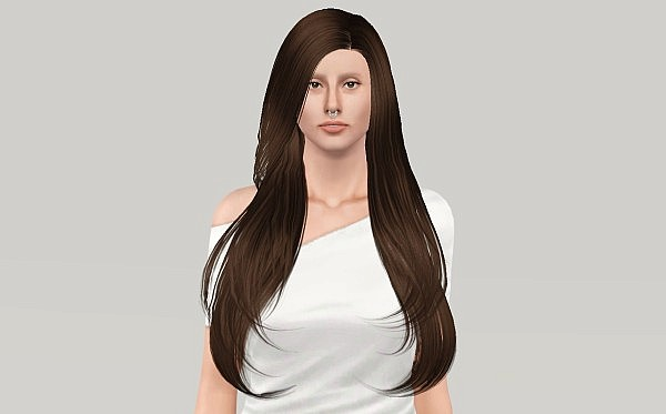 Butterflysims 121 hairstyle edited by Fanaskher for Sims 3
