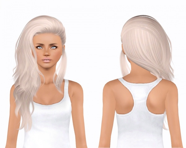 Nightcrawler`s 23 hairstyle retextured by plumblobs for Sims 3