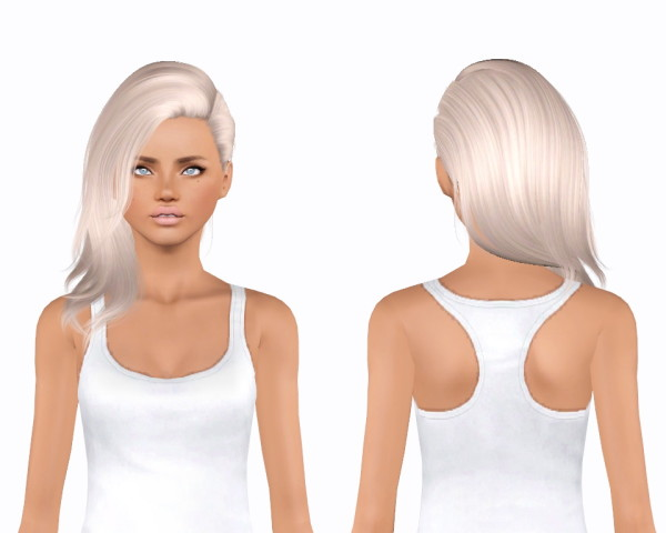 Alesso`s Wine hairstyle retextured by Plumblobs for Sims 3