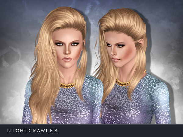 Cool Hairstyle 23 by Nightcrawler for Sims 3