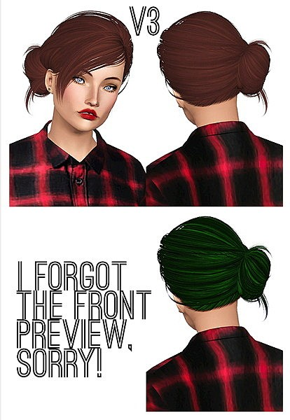Skysims 113 hairstyle retextured by Chantel for Sims 3