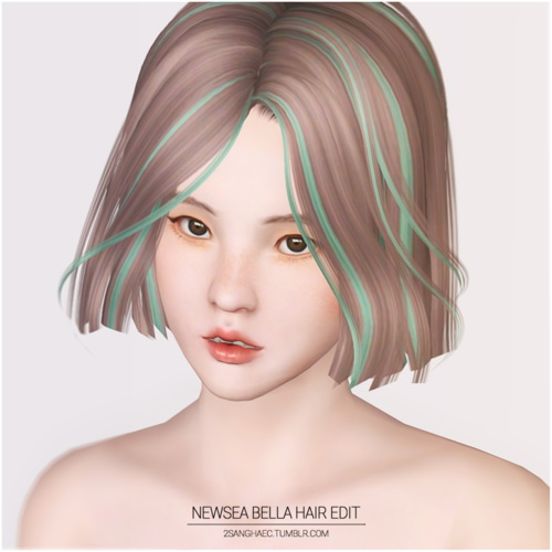 Newsea`s Bella edit by 2sanghaec for Sims 3