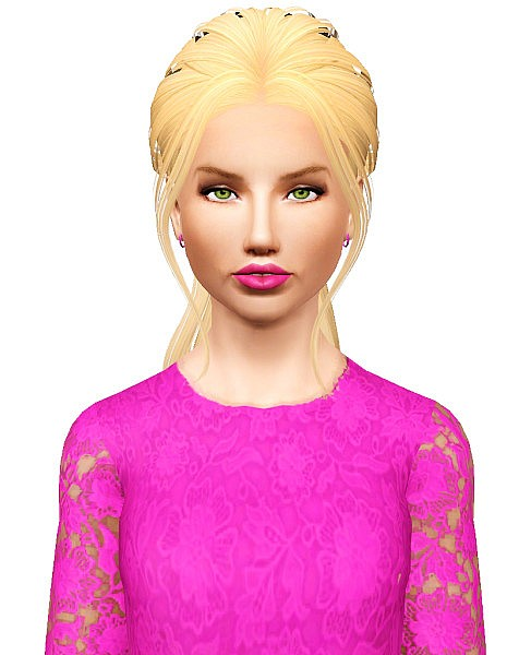 Skysims 201 hairstyle retextured by Pocket for Sims 3