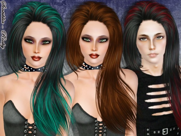 Rocky hairstyle by Sintiklia for Sims 3