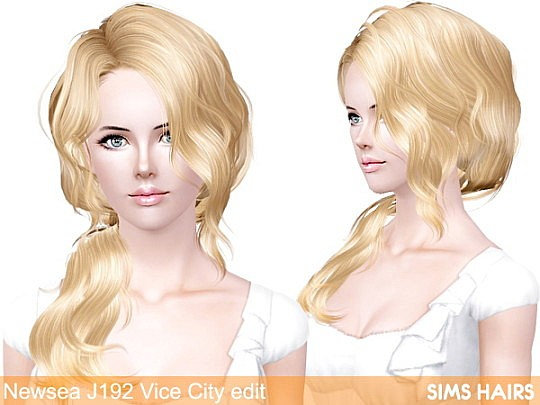 Newsea's J192 Vice City retextured by Sims Hairs