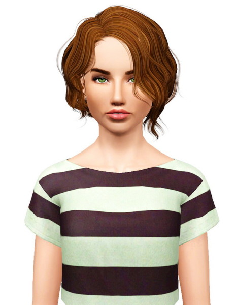 Newsea`s Vice City hairstyle retextured by Pocket for Sims 3