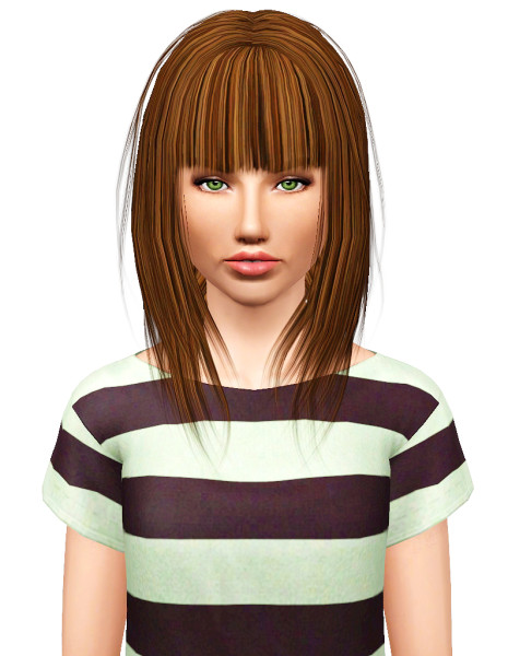 XM 30 hairstyle retextured by Pocket for Sims 3