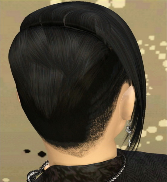 G Dragon hairstyle by Jasumi for Sims 3