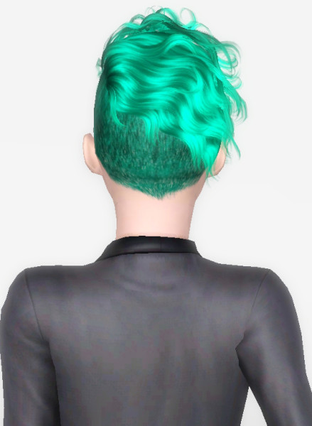 Newsea S Black Bullet Hairstyle Retextured By Forever And Always Sims 3 Hairs