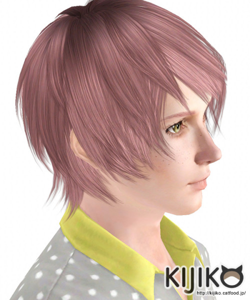 Onion Knight hairstyle by Kijiko for Sims 3