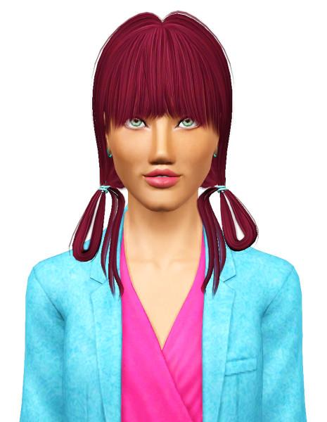 Zauma`s Growl hairstyle for Sims 3