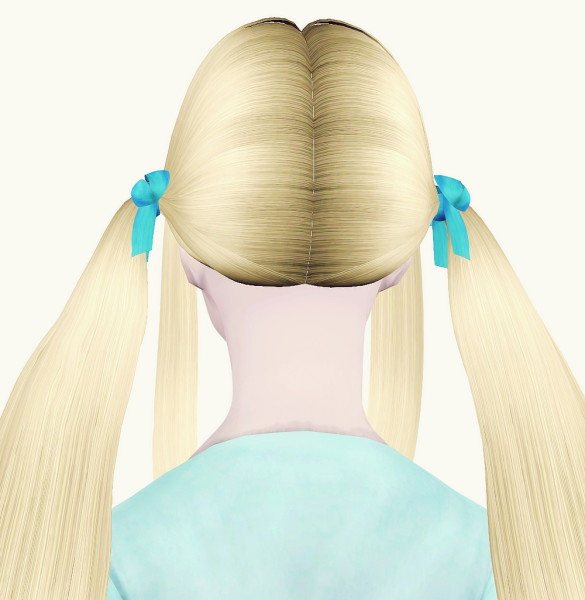 Jaekc 12 Bazaar hairstyle converted from Sims 2 to Sims 3 by Maipham for Sims 3