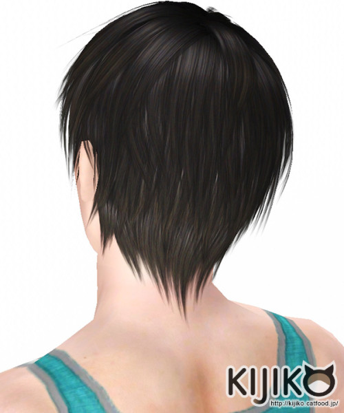 Loves to Swim hairstyle by Kijiko for Sims 3