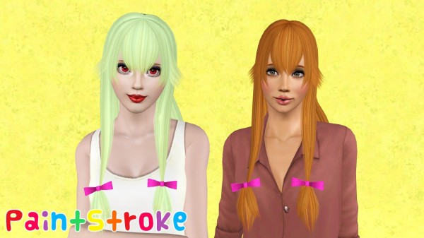 Zauma`s Yuno hairstyle by Paint Stroke for Sims 3