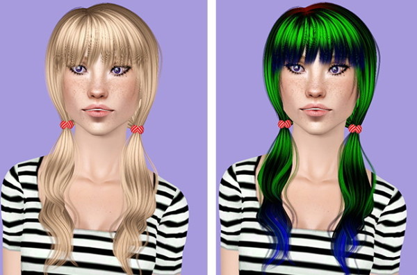 Cazy`s 113 Tammin hairstyle retextured by Plumb Bombs for Sims 3