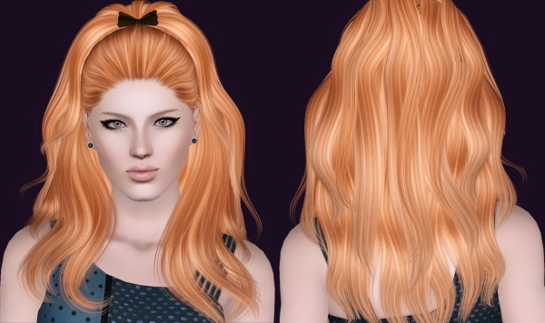 Alesso's Candle hairstyle retextured by Bring Me Victory for Sims 3