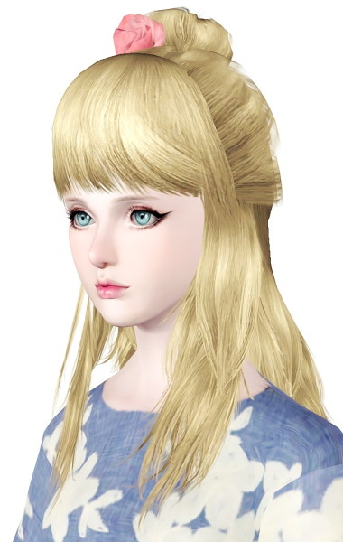 MYOS hairstyle 17 Converted from Sims 2 to Sims 3 for Sims 3