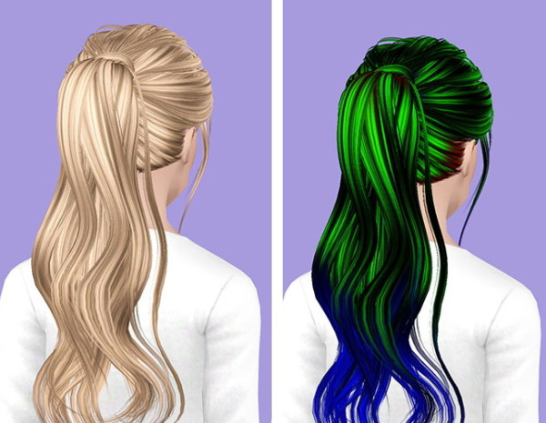 Skysims 201 hairstyle retextured by Plumb Bombs for Sims 3
