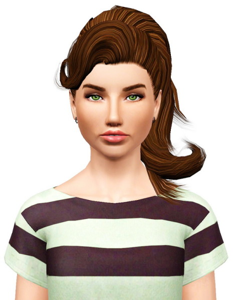 Colores Urbanos 06 hairstyle retextured by Pocket for Sims 3