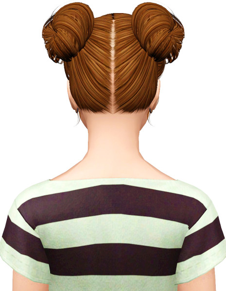 Butterfly 078 hairstyle retextured  by Pocket for Sims 3