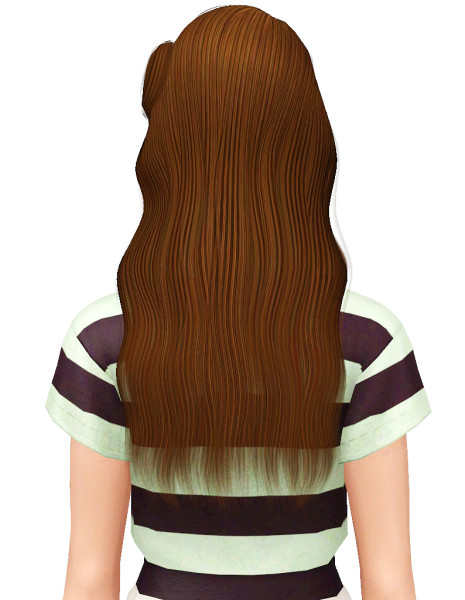 Cazy`s Leah hairstyle for Sims 3
