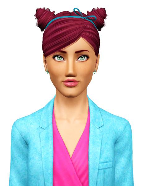 Zauma`s Mirror hairstyle retextured by Pocket for Sims 3