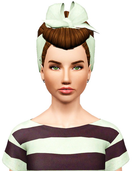 Colores Urbanos 04 hairstyle retextured by Pocket for Sims 3