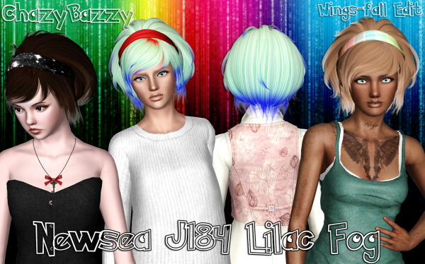NewSea`s J184 Lilac Fog retextured by Chazy Bazzy for Sims 3