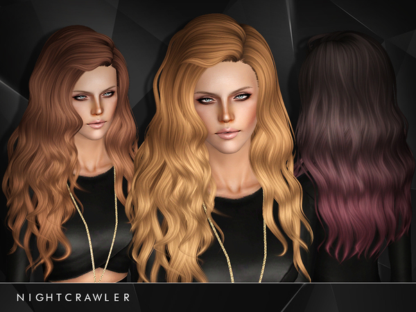 The Sims Resource Long Hair