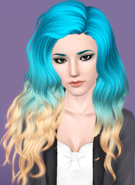 Nightcrawler`s 26 hairstyle retextured by Forever And Always for Sims 3