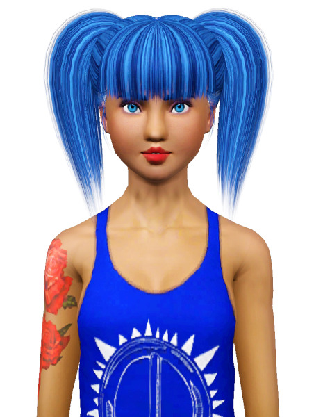 Rose 17 hairstyle retextured by Pocket for Sims 3