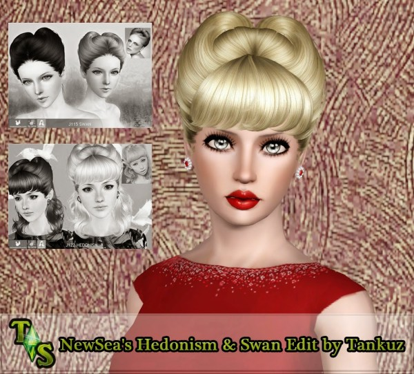 NewSeas Hedonism and Swan edited by Tankuz Sims 3 for Sims 3
