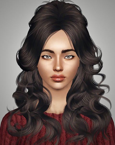 Newsea`s J203 Stardust hairstyle retextured by Royal for Sims 3