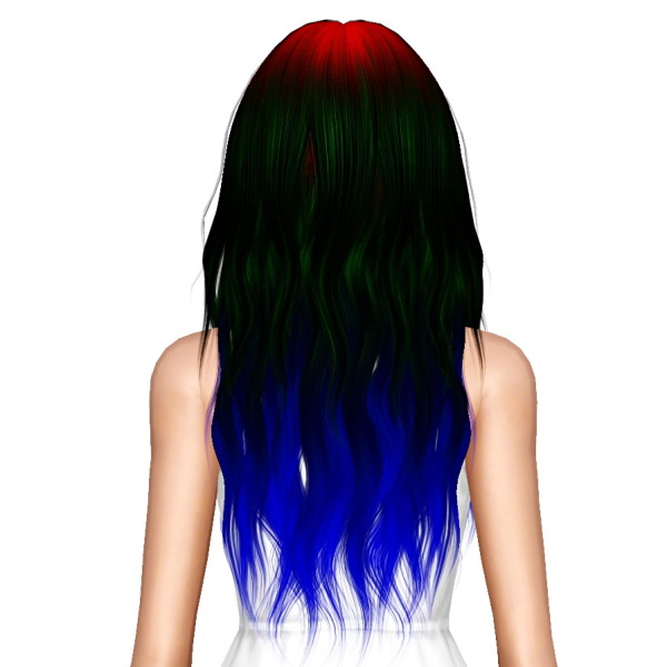 Alesso`s Glow hairstyle retextured by July Kapo for Sims 3
