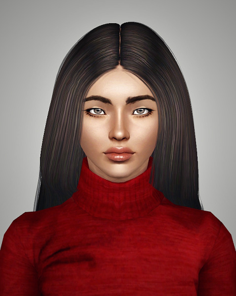 Radiate hairstyle retextured by Royal for Sims 3