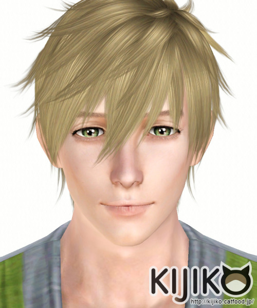 Orca hairstyle by Kijiko for Sims 3