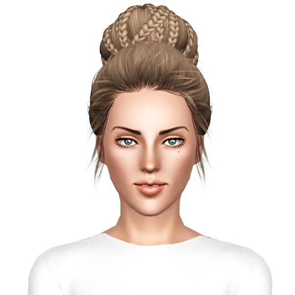 Skysims 238 hairstyle retextureed by July Kapo for Sims 3