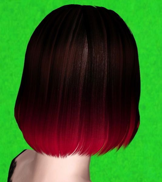 Geishasims Firefly hairstyle retextured by Thecnihs for Sims 3