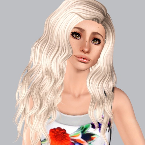 Nightcrawler 26 hairstyle retextured by Plumb Bombs for Sims 3